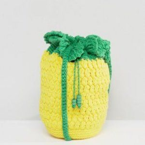 ASOS Crochet Pineapple Crossbody Bag!!!